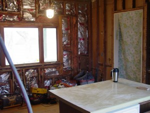 This view looks to wards the Northwest corner of the Kitchen.